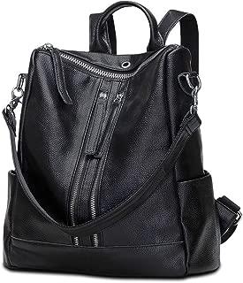 Travel Backpack Purse for Women Convertible Leather Shoulder Weekender Bag