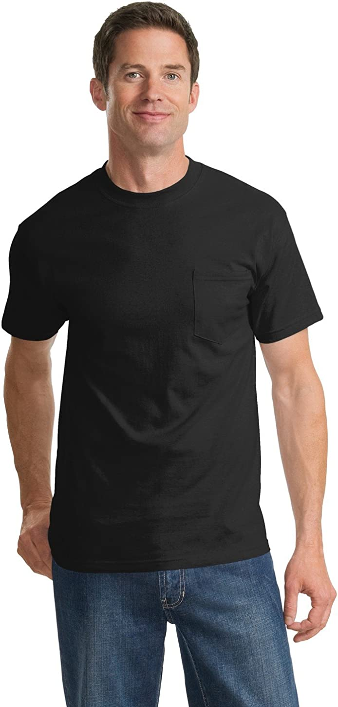 Port & Company Men's Tall Essential T Shirt with Pocket