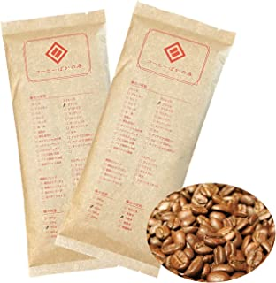 コーヒーばかの店 コーヒー豆 お試しセット [豆のまま] 2種類 合計240g:ブラジル(120g) マンデリンブレンド清流長良川 (120g) 自家焙煎 珈琲豆 福袋