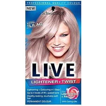 Schwarzkopf Live U72 Dusty Silver - Lote de 3 unidades ...