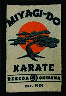 Karate Kid Miyagi Do Morale Tactical Military Patch Made in the USA Perfect for your rucksack,pack bag, Molle Gear operator hat or cap! 2x3