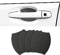 Door Handle Trim Magnetic Door Cup Paint Scratch Protector Cover Accessories for Subaru Forester(4 Pcs)