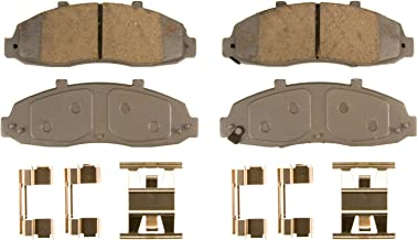Wagner ThermoQuiet QC679 Ceramic Disc Pad Set With Installation Hardware, Front