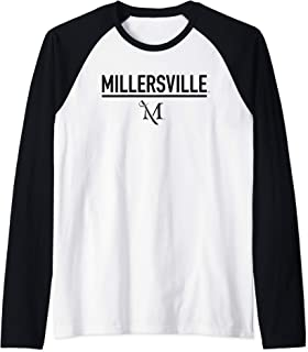 Millersville University Marauders NCAA 95AMVC1 Raglan Baseball Tee