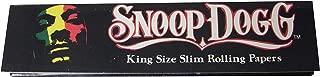 3個セット SNOOP DOGG ローリングペーパー キングサイズスリム 110mm ロング タバコ ペーパー [並行輸入品]