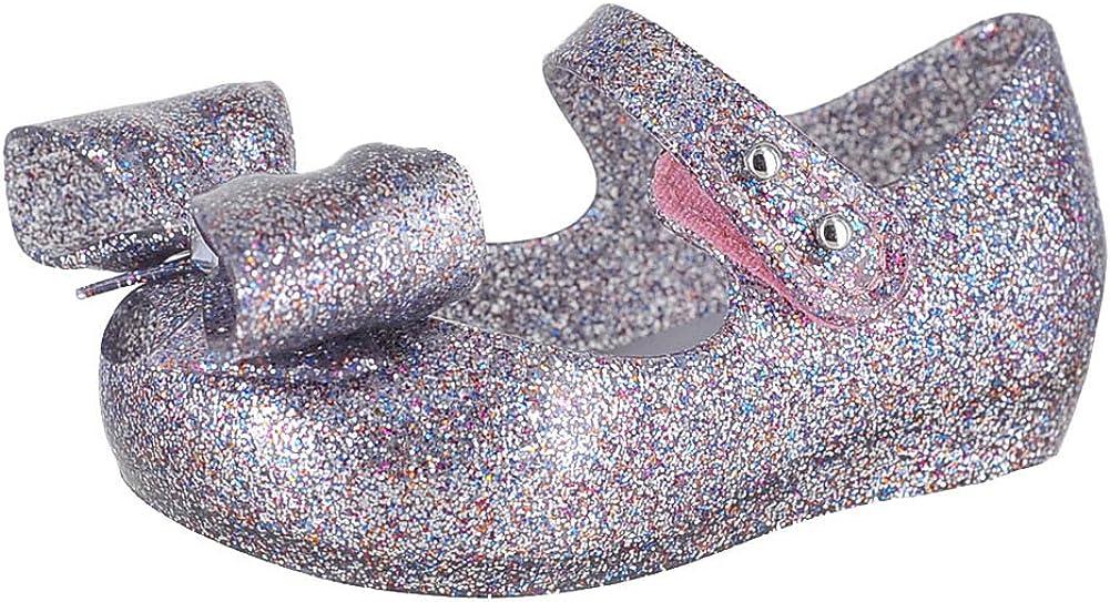 mini melissa Unisex-Child Mini Ultragirl VIII Ballet Flat