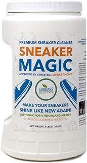 Wash Safe Industries WS-SM-3LB Sneaker Magic Premium Sneaker Cleaner, 3lb Bottle