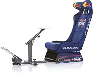 Playseat Evolution Red Bull GRC Edition Racing Video Game Chair for Nintendo Xbox Playstation CPU Supports Logitech Thrustmaster Fanatec Steering Wheel and Pedal Controllers