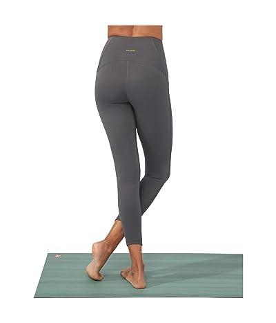 manduka Presence 7/8 Pocket Legging (New Grey) Women