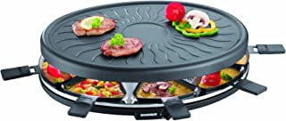 Severin RG 2681 - Raclette Partygrill, 1100 W Aprox., Incluye 8 Mini-Sartenes