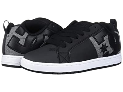 DC Court Graffik SQ (Black/Heather Grey) Men