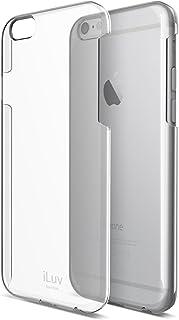 حافظة حماية رقيقة ومتينة وشفافة من اي لوف لهاتف ايفون 6 بلس (طراز Ai6Pgoss)- باللون الشفاف