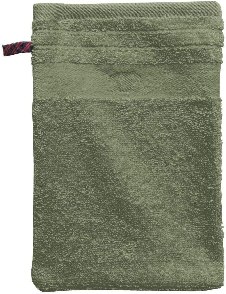 TOM TAILOR 0100111 Terry Cloth Wash Mitt Combed Cotton Piece-Dyed 1x 16 x 22 cm Mauve