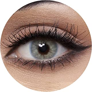 Anesthesia Addict Blue Unisex Contact Lenses, Anesthesia Cosmetic Contact Lenses, 6 Months Disposable - Addict Blue Color