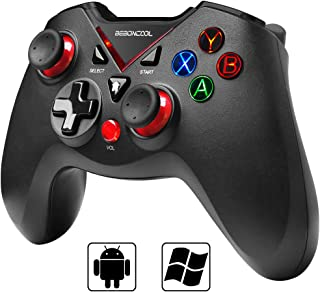 BEBONCOOL Game Controller with Vibration Shot Function for Android Phone/Tablet/TV Box/Gear VR/Emulator