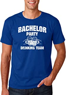 Wedding Eve - Bachelor Party Drinking Team Funny Stag Gift Novelty Premium Men's T-Shirt