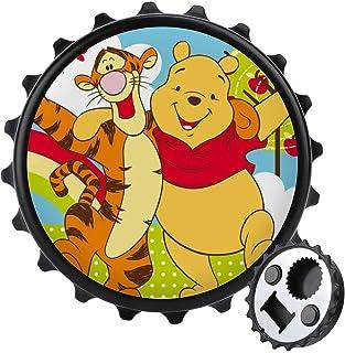 Pooh och tigger flasköppnare ett lock multifunktionell ölflasköppnare, möbler kylskåp dekoration klistermärke