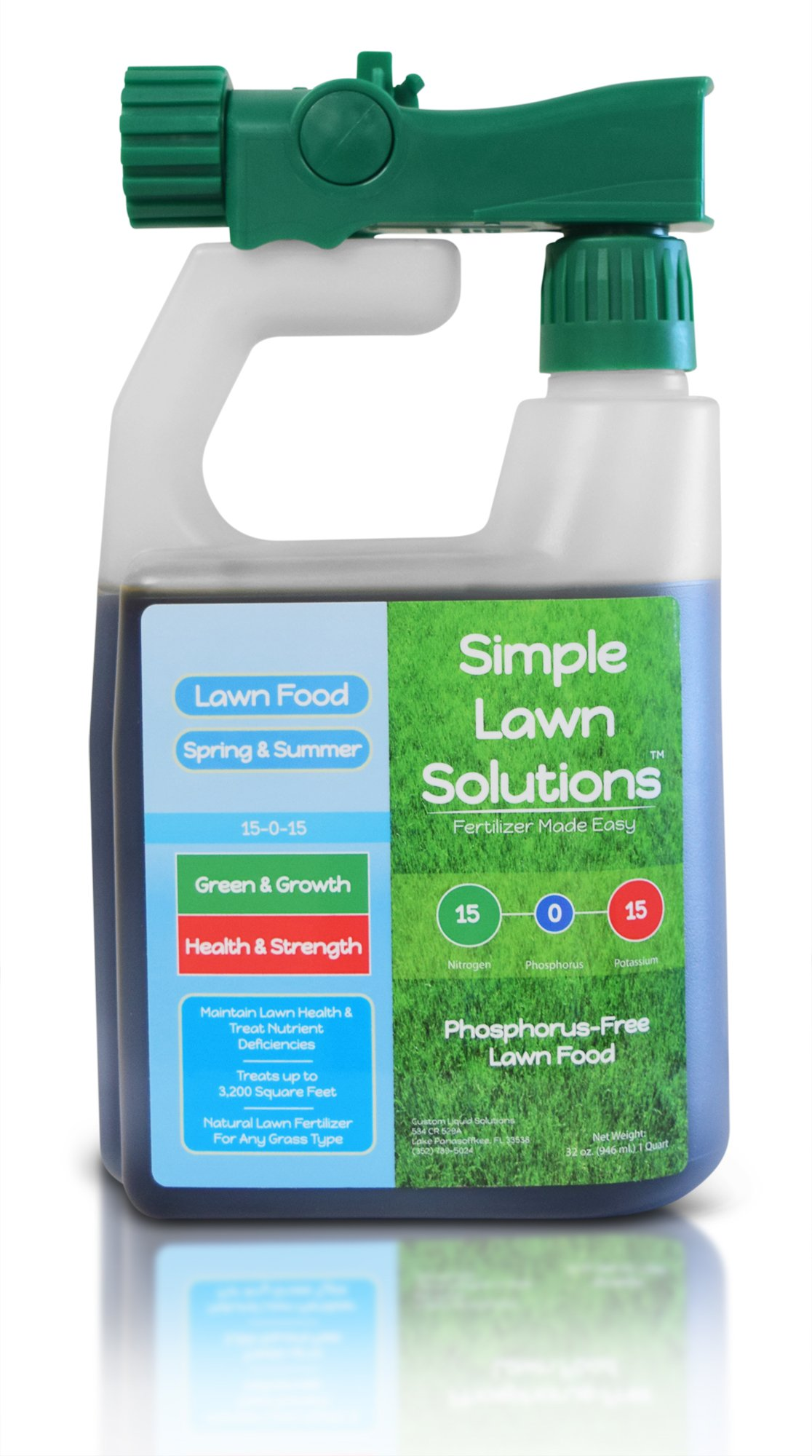 Lawn Concentrated Simple Solutions Phosphorus free
