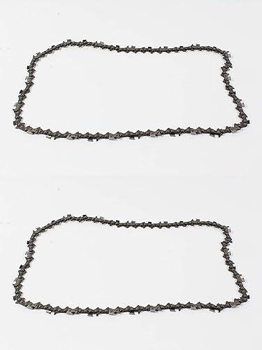 "new arrival Husqvarna 2 Pack online Genuine 591119468 outlet online sale 18"" 3/8"" .050 68 DL H46-68 Saw Chain Loop online sale"