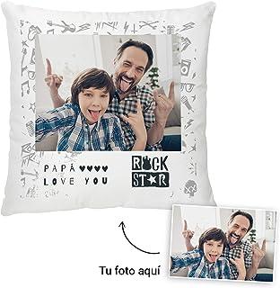 Fotoprix Cojín Personalizado con Foto para Papá | Regalo