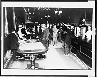 Historic Photos 1910 Photo Open Gambling, The Louvre, Reno, Nev. View in Gambling Casino, Roulette Table and bar in Foreground. Location: Nevada, Reno