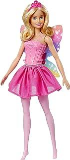 Barbie Dreamtopia Fairy Winged Doll - Blonde Hair, Pink Dress
