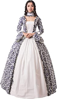 CountryWomen Medieval Renaissance Queen Arwen Christmas Holiday Dress Ball Gown Theatrical Cosplay Clothing