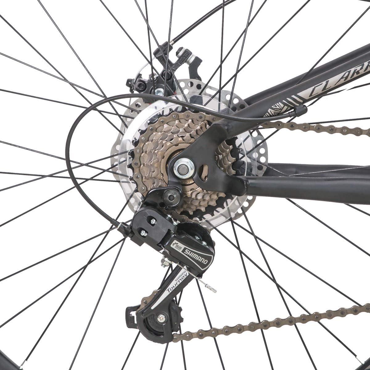 Hiland 26 Zoll Dual-Suspension Mountainbike 21Speed MTB Fahrrad f/ür Herren 18 Zoll