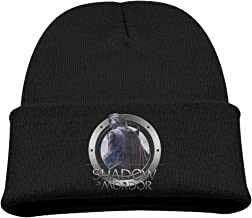 Child's Wool Hat Slouchy Beanie Winter Middle Earth Shadow of Mordor Watch Cap KnitCap WinterHats