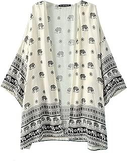 elephant pattern clothing