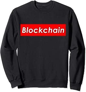 Blockchain Red Box Bitcoin Sweatshirt BTC Crypto Hardware