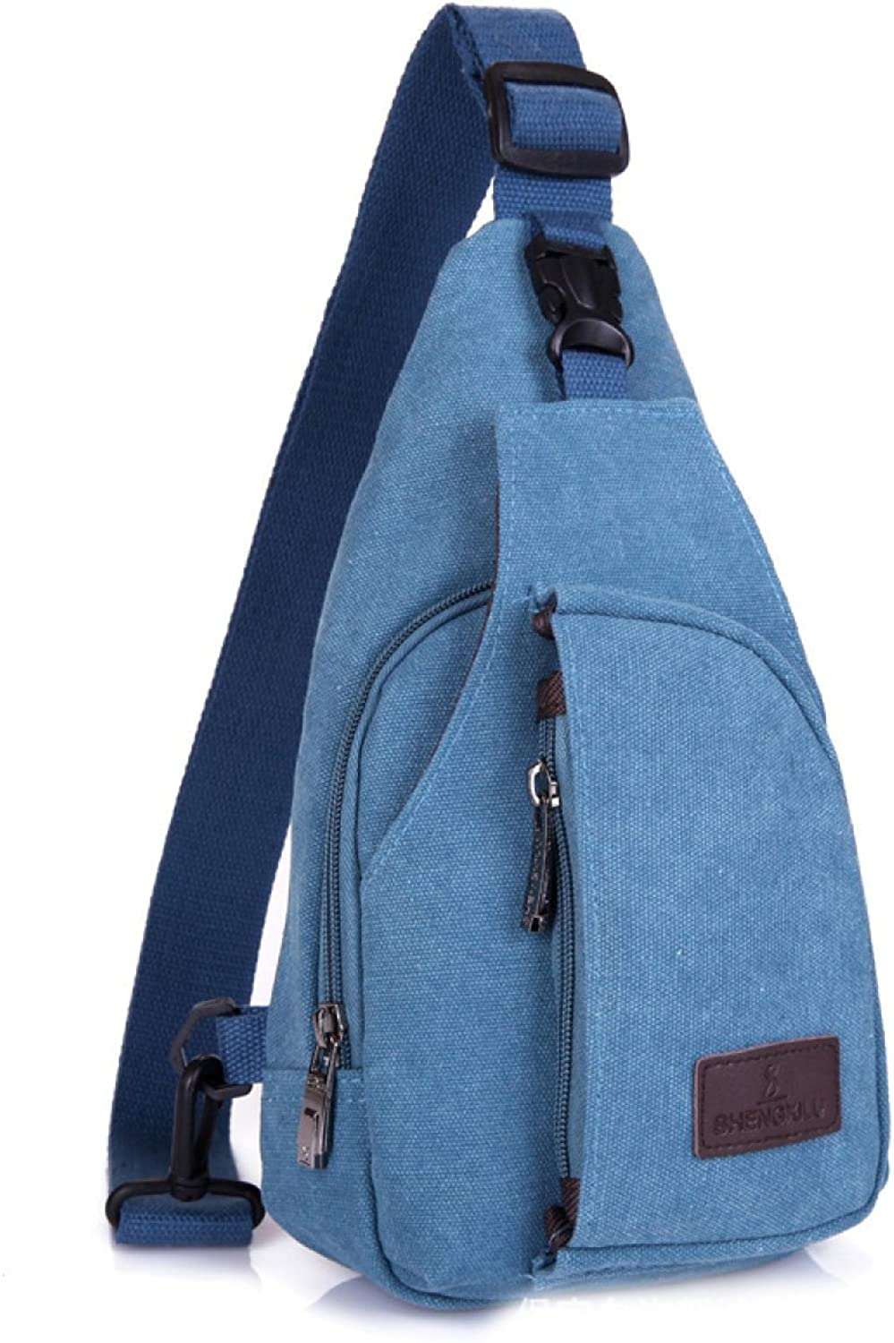 BULAGE Bag Leisure Men Chest Canvas Women Messenger Bag Multifunction Outdoor Sports Fashion Riding Shopping Going Out