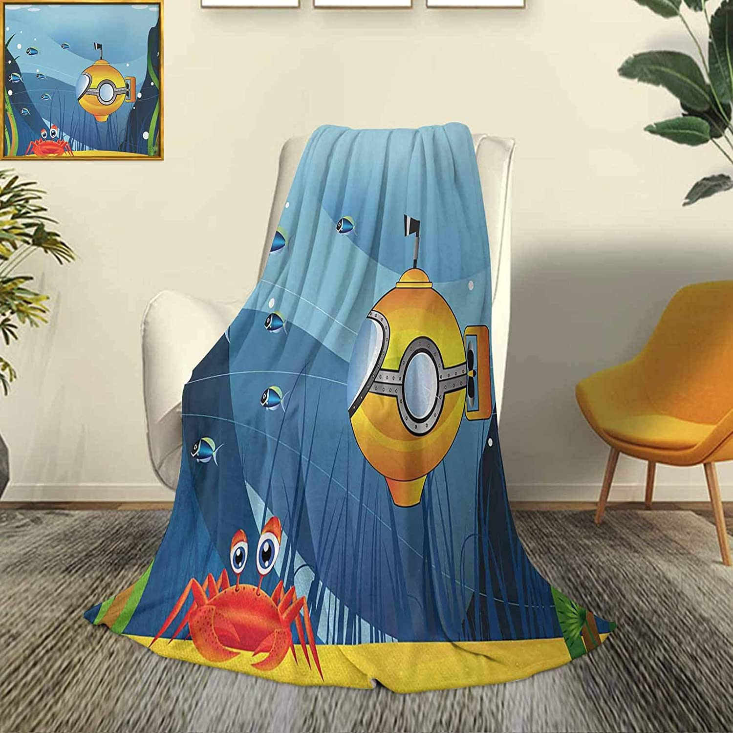 Yellow Submarine Super soft and comfortable Low price 25% OFF be microfiber luxury