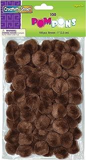 Best large brown pom poms Reviews