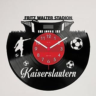 Gravinci Gravinci Kaiserslautern Fan Schallplatten-Wanduhr