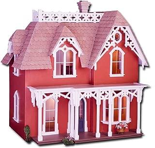 Greenleaf Chantilly Dollhouse Kit Laser Cut