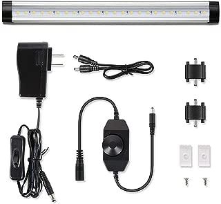 Albrillo Under Cabinet LED Lighting, 1 Pack (Warm White 3000K, Dimmable)