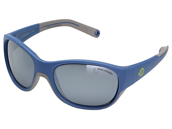 Julbo Eyewear Juniors  Luky Sunglasses (4-6 Year Old Boys) (Blue/Gray With Spectron 3 Lens) Athletic Performance Sport Sunglasses