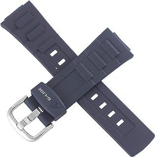 Casio 10413036 Bracelet de montre pour BLX-102-2A BLX 102 Bleu