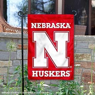 College Flags and Banners Co. Nebraska Cornhuskers N Logo Garden Flag