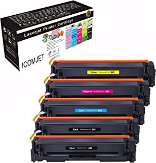 Sponsored Ad – ICOMJET Compatible Toner Cartridge Replacement for Canon 045 CRG-045 Use for Canon LBP611Cn LBP612CDW LBP61...
