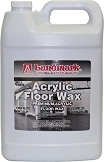 Lundmark Wax LUN-3203G01-2 Not Applicable Acrylic Floor Wax, 1-Gallon (Pack of 2)
