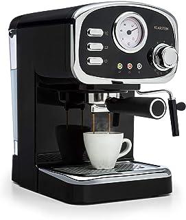 Klarstein Espressionata Gusto - Cafetera, Espresso, Diseño