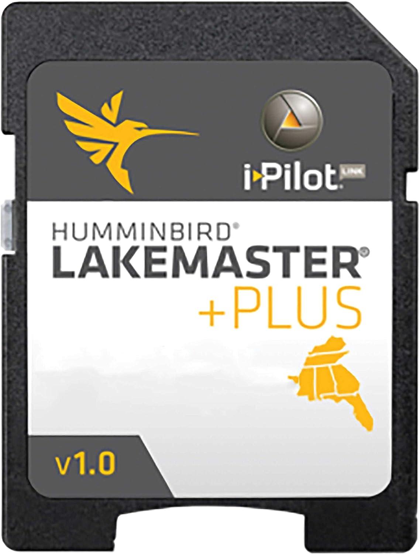 Humminbird LakeMaster 600011-5 Western Plus Map Crd, Black, Small