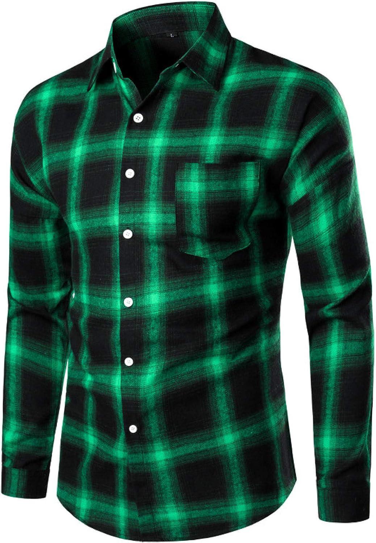 Men's Long-Sleeved Shirt Fall Retro Casual Loose Genuine Classic P Trend Under blast sales