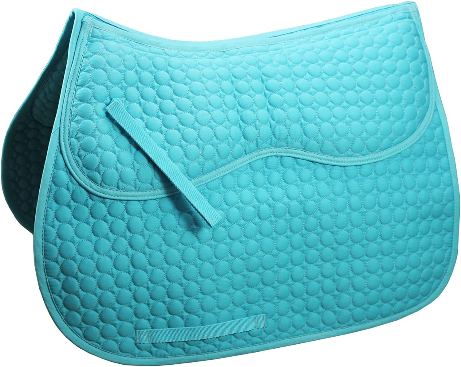 Derby Originals Extra Comfort All Purpose English Saddle Pad with Removable Memory Foam