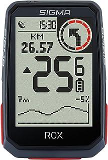 SIGMA SPORT ROX 4.0 zwart | Draadloze fietscomputer GPS en navigatie met GPS-ondersteuning | Outdoor GPS-navigatie met hoo...