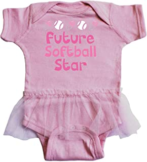 Future Softball Star Infant Tutu Bodysuit