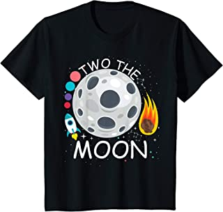 Enfant Two The Moon Toddler Second 2nd Birthday Gifts 2 Year Old T-Shirt