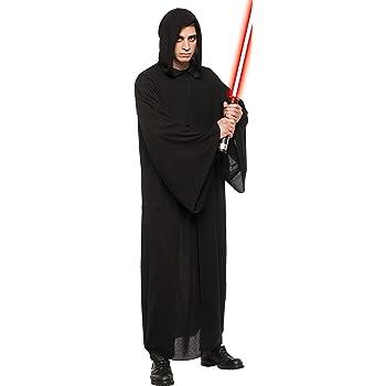 STAR Wars Obi Wan Kenobi Costume Marrone Scuro Jedi Robe Film Set qualità dal Regno Unito